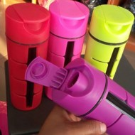 Large BPA free sturdy water bottles- 4 colours