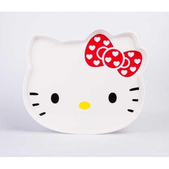 Hello Kitty Face Serving Tray