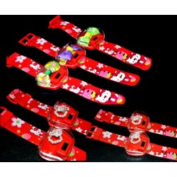 Hello Kitty Digital Watch with Free hair clip or Ring