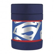 Superman Funtainer Thermos Container Food Jar- 10ounce