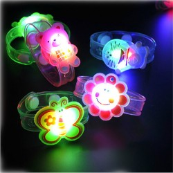 Children luminescent Cartoon LED Bracelet - assorted designs for boys and girls