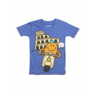 Kidsville Mr.Men Royal Blue T-Shirts For Boys (12mths-3yrs)