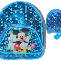 Funky Kids Character Wipe Clean Backpack- Mickey, princess, Dora, Pooh
