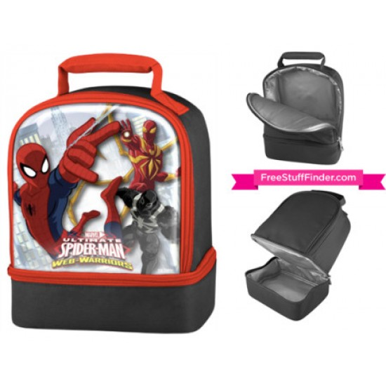 Thermo Dual Compartment Spiderman Lunch Kit