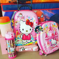 Hello Kitty 3d Toddler Back To School Matched Set