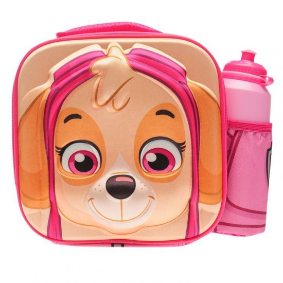 Paw Patrol Skye 3D Lunch Bag and Bottle