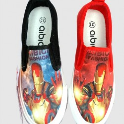 Iron Man Boys Fashion Canvas- size 34, 35- 2 designs