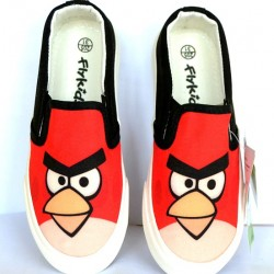 Angry Birds Boys Canvas- Size 30-35