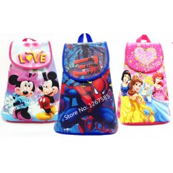 KnapSack Party Bags(Assorted xters)- pack of 12