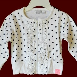 Dirkje Baby girl Bolero Jacket (0-3yrs)- 2 colours