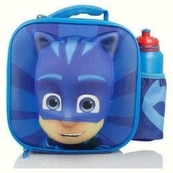 PJ Masks 3D Insulated Lunch Bag with Bottle