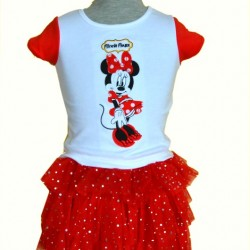 Disney Minnie Mouse 3pcs Tutu Outfit set (6mths-24mths)