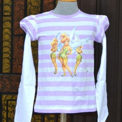 Disney Tinkerbell Girls layered tee (5-6yrs)