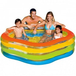 Intex  Summer Colours Swim Centre 73 x 71 Inch Pool