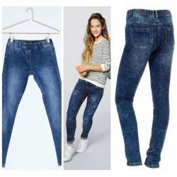 90cc61600586 KIABI Girls Skinny denim trousers- 10yrs- BLUE