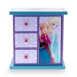 "Disney ""FROZEN"" Elsa & Anna Armoire Jewelry Box for Girls"
