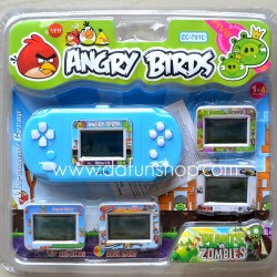 Angry Birds 4 in One Kids Palmtop Multifunctional Game