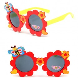 Cute Girls Flower Bee Kids UV400 Sunglasses - assorted colours
