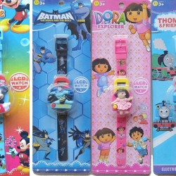 Cartoon LCD Figure Watches- Assorted designs