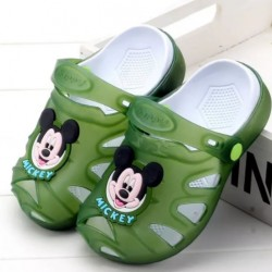 Mickey Mouse Light up LED Clogs Sandals- Size 24, 27