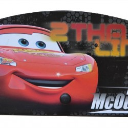 Disney Cars 3 peg Wall hanger