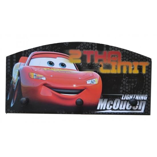 Disney Cars 3 peg Wall hanger