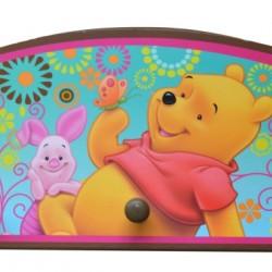 Disney Winnie the Pooh 3 peg Wall hanger