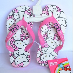 Hello Kitty Girls Flip Flops (Size 11, 13, 2)