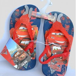 Disney Pixar Cars Flip Flop Elastic Sandals- US 5, 9