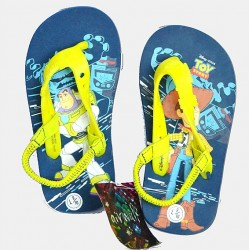 Disney Pixar Toy-Story Boys Elastic flip flop Sandals- US size 9/EUR 26