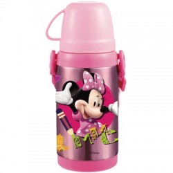 Disney Minnie Mouse Thermal Bottle with carry rope- 450ml
