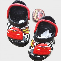Disney Cars Boys 3d Light up Clogs/Crocs- Size 23