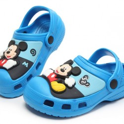 Disney Mickey Mouse 3d Eva Crocs/Clogs with light- size 27, 28