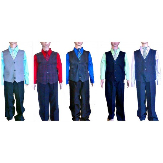Holiday Editions Boys 4-Piece Suit- 5yrs, 6yrs