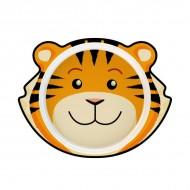 Junior D by Dalebrook- Tiger Plate