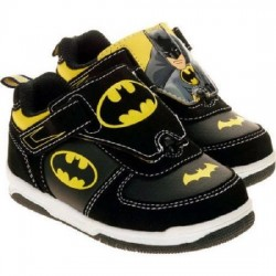 Batman Boys Reversible Photo Sneakers- Size 7-13