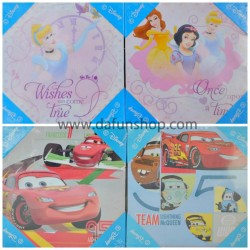 Disney Set of 2 wooden Pictures- Cars, Princess