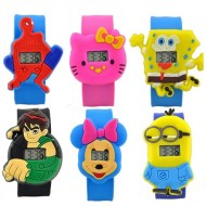 3d Cartoon Face Watch -assorted
