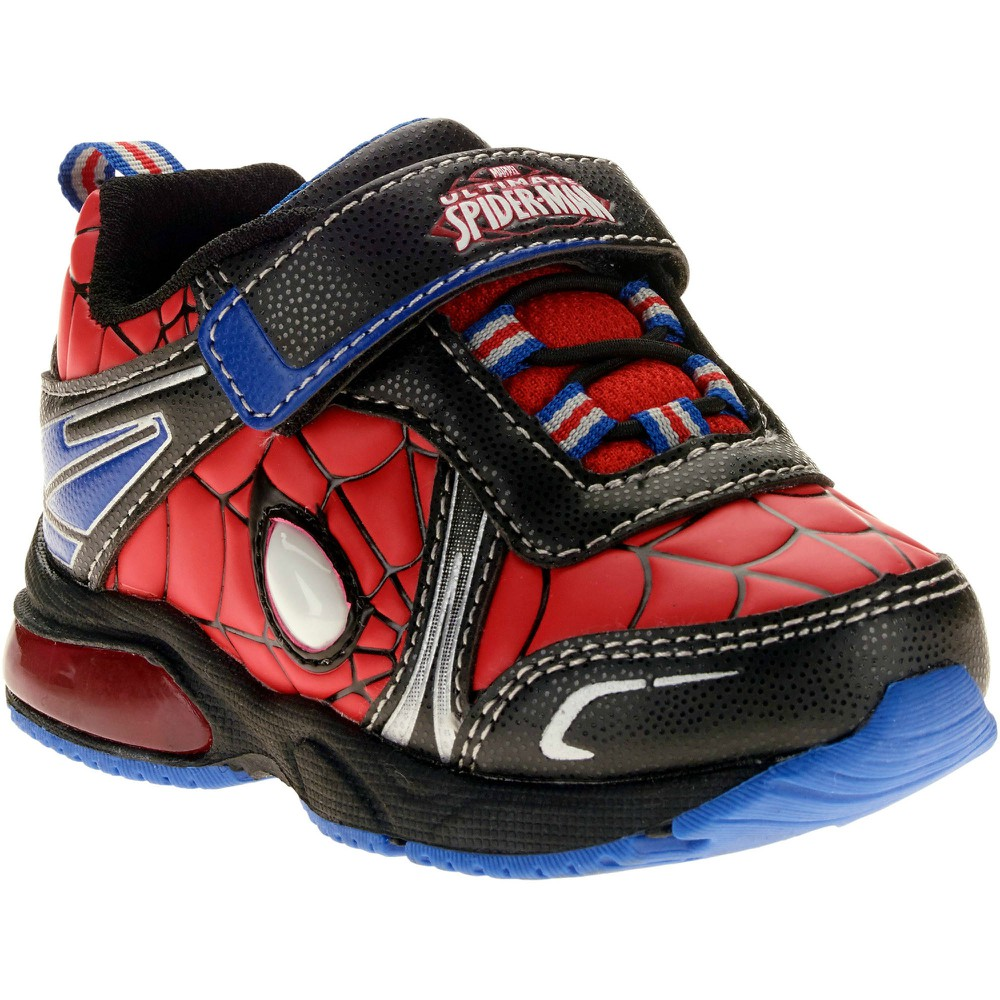 Spiderman Toddler Boys Lighted Athletic