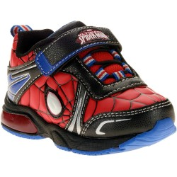 Spiderman Toddler Boys Lighted Athletic Shoe- Size US 11