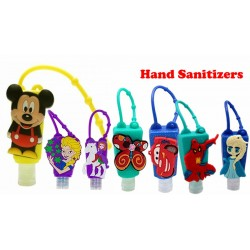 Portable Cute Cartoon Kids Hand Sanitizer / Hand Gel - Assorted designs