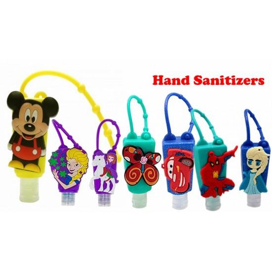 Portable Cute Cartoon Kids Hand Sanitizer / Hand Gel - Assorted designs