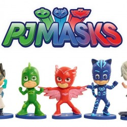 PJ Masks Collectible Figure Set (5 Pack) Styles may vary
