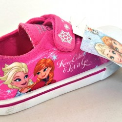 Frozen Toddler girls Canvas- Pink- 27