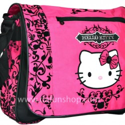 Hello Kitty Varsity Messenger Bag