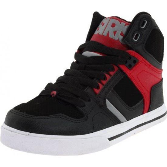 49af5f4dd9 Osiris Kids NYC 83 Red, Grey & Black Skate Shoes- Size 13