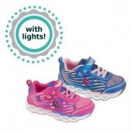 Bubble Bobble Girls Lighted Sneakers- 2 colours- EUR 25-35