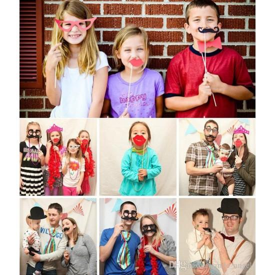 16pcs Party Photo props set- assorted