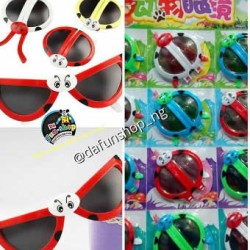 Foldable Cartoon Ladybird eyeglasses- pack of 12