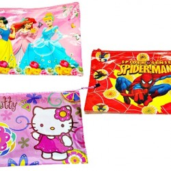 Large Character Stationery Bag- assorted characters (sold in dozens)